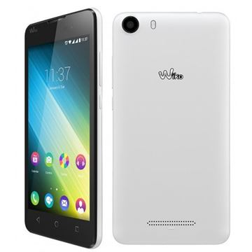 "Smartphone WIKO Lenny 2, 5"" IPS multitouch, QuadCore Cortex A7 1.3GHz, 768MB RAM, 4GB Flash, microSD, BT, Dual SIM, 2x kamera, Android 5.1, bijeli"