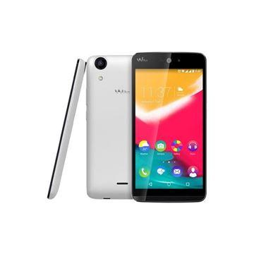 "Smartphone WIKO Rainbow JAM 3G, 5"" IPS multitouch, QuadCore Cortex A7 1.3GHz, 1GB, 8GB Flash, microSD, BT, Dual SIM, 2x kamera, Android 5.1, bijeli"