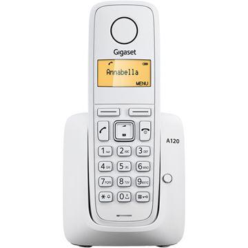 Telefon SIEMENS Gigaset A120, bežični, bijeli