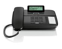 Telefon SIEMENS Gigaset DA710, crni