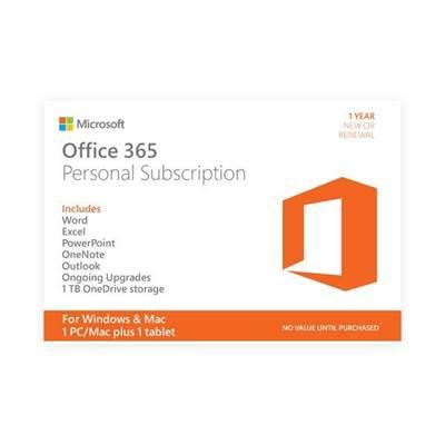 MICROSOFT Office 365 Personal 32-bit/x64, svi jezici, QQ2-00012, scratch kartica