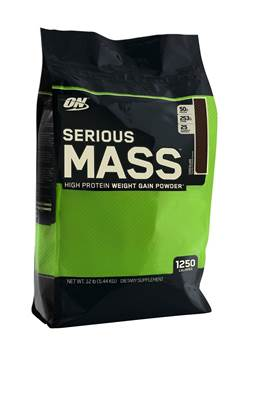 Gainer OPTIMUM NUTRITION Serious mass okus čokolada 5.6kg