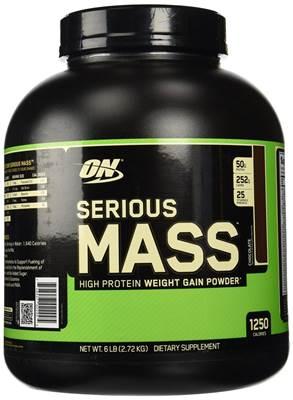 Gainer OPTIMUM NUTRITION Serious mass okus jagoda 2.72kg