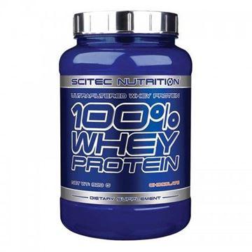 Protein SCITEC NUTRITION 100% Whey Protein 0.92kg, bez okusa