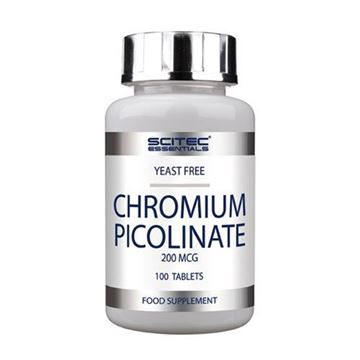 Mineral SCITEC NUTRITION Chromium Picolinate, 100 tableta