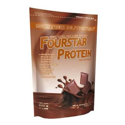 Zamjenski obrok SCITEC NUTRITION Fourstar Protein 0.5kg, okus čokolada