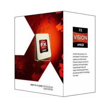 Procesor AMD FX X4 4300 BOX, s. AM3+, 3.8GHz, 8MB cache, Quad Core