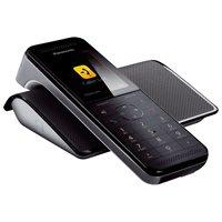 Telefon PANASONIC KX-PRW110FXW, bežični, crni