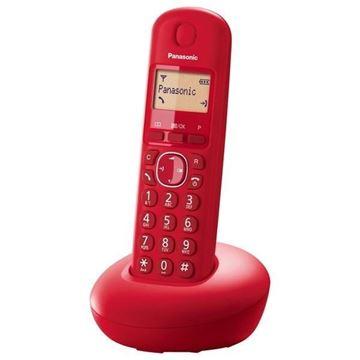 Telefon PANASONIC KX-TGB210FXB, bežični, crveni