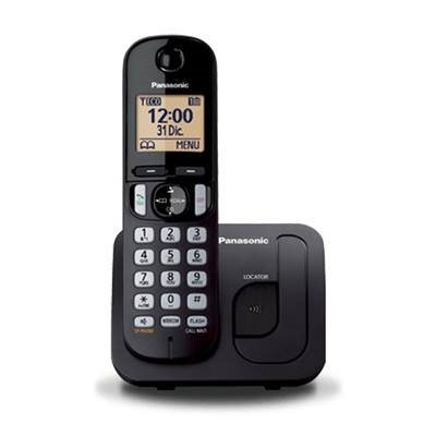 Telefon PANASONIC KX-TGC210FXB, bežični, crni