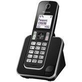 Telefon PANASONIC KX-TGD310FXB, bežični, crni