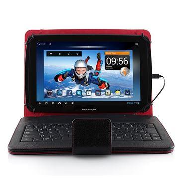 """Futrola MODECOM MC-TKC10, sa micro USB tipkovnicom, univerzalna, za tablete od 9""""-10.1"""", crna"""