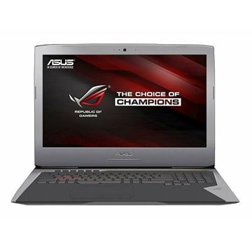 "Prijenosno računalo ASUS ROG G752VY-GC099T / Core i7 6700HQ, DVDRW, 16GB, 1000GB + 256GB SSD, GeForce GTX 980M, 17.3"" LED FHD, G-LAN, HDMI, BT, kamera, USB 3.1, Windows 10 Home, sivo"