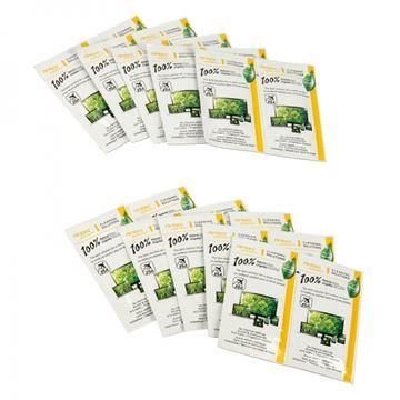 Vlažne maramice za čišćenje, ANTEC 100% Natural Wipes, 20kom