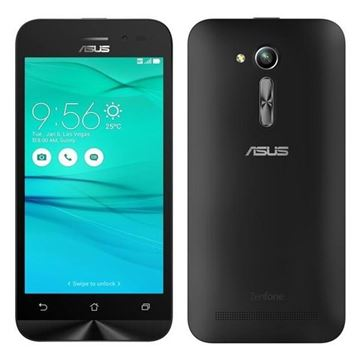 "Smartphone ASUS Zenfone GO ZB452KG, 4.5"" IPS multitouch, QuadCore Qualcomm Snapdragon 200 1.2GHz, 1GB RAM, 8GB Flash, microSD, Dual SIM, BT, GPS, 3G, Android 5.1, crni"