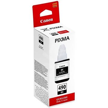 Tinta CANON GI-490BK, crna, za Pixma G1400/2400/3400