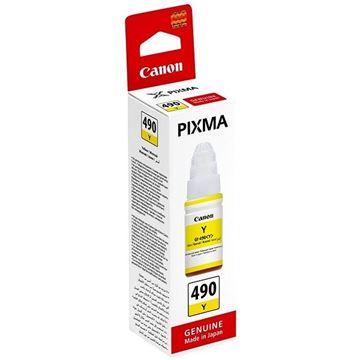 Tinta CANON GI-490Y, žuta, za Pixma G1400/2400/3400