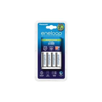 Punjač baterija Eneloop Advanced KKJ17MCC40E, 4 mjesta za punjenje + 4x 1900mAh AA baterije