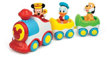 Igračka CLEMENTONI 14361, Mickey Mouse glazbeni vlak