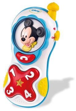Igračka CLEMENTONI 14864, Mickey Mouse mobitel