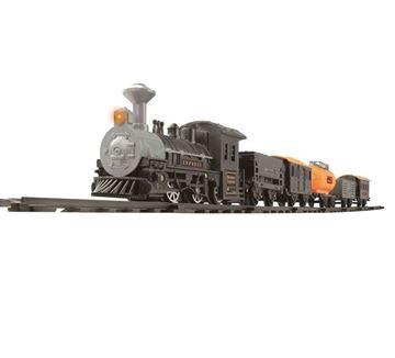 Igračka GOLDLOK GL 9668E, Western Express, vlak na baterije, lokomotiva i pet vagona