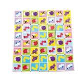 Drvena igračka VIGA 50127, Domino, 28 komada