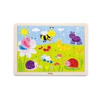 Drvena igračka VIGA 50199, Park, slagalica za djecu, 24 komada