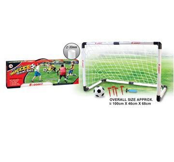 Igračka AO JIE AJ2321SG, Nogomet, 1 gol, lopta 15.2cm, set