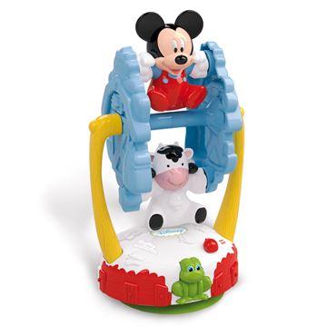 Igračka CLEMENTONI 14870, Mickey Mouse Spinning Farm, vrtuljak farma