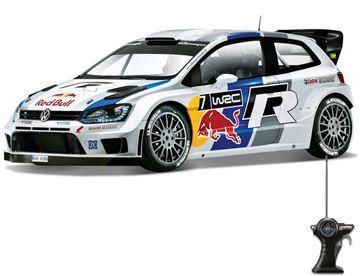 Igračka MAISTO 81148, Volkswagen Polo WRC, auto na daljinsko upravljanje, 1:24