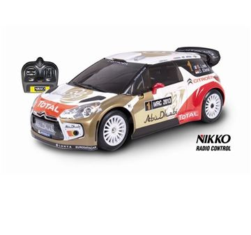 Igračka NIKKO 160166C2, Citroen DS3 WRC Abu Dhabi, auto na daljinsko upravljanje, 1:16