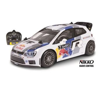 Igračka NIKKO 160235A2, Volkswagen Polo WRC Red Bull, auto na daljinsko upravljanje, 1:16