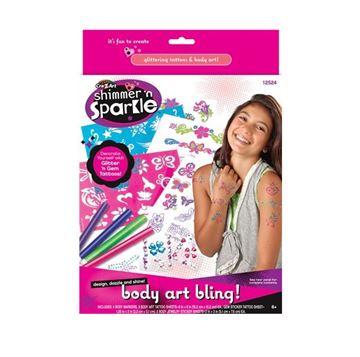 Kreativni set CRAZART 12524, Set za oslikavanje tijela