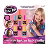 Kreativni set CRAZART 17058, Set neonskih kreda za bojanje kose