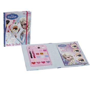 Kreativni set GIOCHI PREZIOSI GPH18492/HR, Frozen, set za šminkanje sa knigom o šminkanju