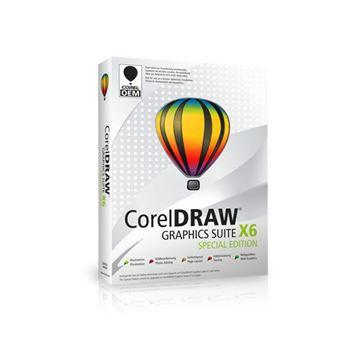 COREL CorelDraw Graphics Suite X6 Special Edition licenca, elektronski proizvod (trajna licenca)