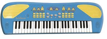 Klavijature LEXIBOOK K723DES, Minions, 10 demo pjesama, 32 brzine tempa, 100 tonova, 100 ritmova