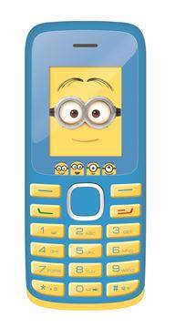 """Mobitel LEXIBOOK GSM20DES, Minions, 1.77"""" ekran, dual SIM, MP3, FM, BT, Li-Ion"""