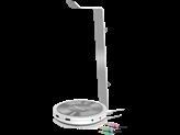 Stalak za slušalice SPEED-LINK Estrado, USB Hub x3, integrirana zvučna kartica, srebrni