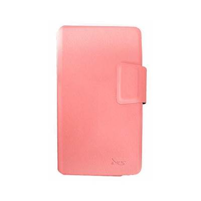 """Futrola za mobilne telefone, MS INDUSTRIAL, module, univerzalna do 5"""", mogućnost korištenja kao stalak, roza"""