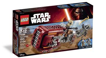 LEGO 75099, Star Wars, Rey's Speeder