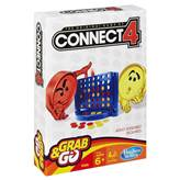 Društvena igra HASBRO Grab&Go, Connect 4, putno izdanje
