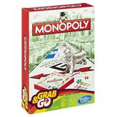 Društvena igra HASBRO Grab&Go, Monopoly, putno izdanje