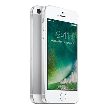 "Smartphone APPLE iPhone SE, 4"" IPS multitouch, DualCore Twister 1.84GHz, 2GB RAM, 64GB Flash, 2x kamera, 4G/LTE, BT, GPS, NFC, IOS 9, srebrni"