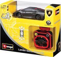 Igračka BBURAGO Wrist Racer 32048, Lamborghini Sesto Elemento, auto na daljinsko upravljanje, 1:36
