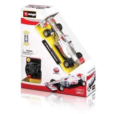 Igračka BBURAGO Wrist Racer 41213, McLaren F1, auto na daljinsko upravljanje, 1:36