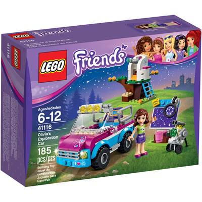 LEGO 41116, Friends, Olivia's Exploration Car