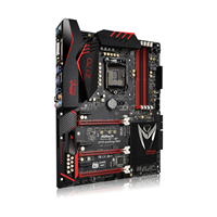 Matična ploča ASROCK Fatal1ty Z170 Gaming K6+, Intel Z170, DDR4, Purity Sound, Killer LAN, SATA3, M.2, PCI-E 3.0, USB 3.1, DVI-D, HDMI, DP, ATX, s. 1151