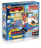 Set za igranje BBURAGO 30087, Street Fire, Car Wash Playset, Autopraonica, 1:43