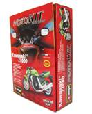 Set za slaganje BBURAGO 55005, Moto kit, Kawasaki Z-1000, 1:18